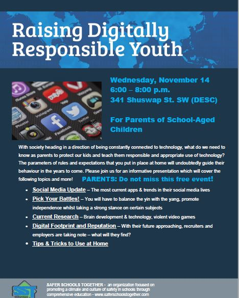 digitally responsible youth