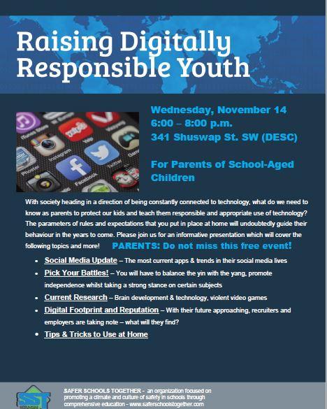 digitally responsible youth