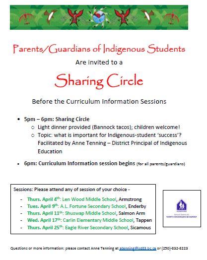 indigenous sharing circle